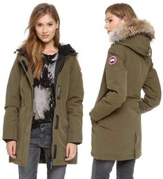 Canada Goose down replica discounts - Doutzen Kroes in Canada Goose! Cycling through Amsterdam in her ...