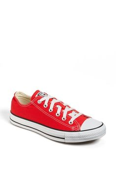 Converse Chuck Taylor® Low Sneaker (Women) | Nordstrom - Red