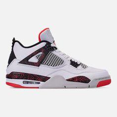 16a21d6559c Men s Air Jordan Retro 4 Basketball Shoes