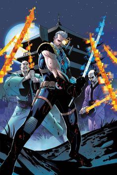 Cable by Jon Malin Comic Book Artists, Comic Artist, Comic Books Art, Marvel Comics, Hq Marvel, Marvel Heroes, Adam Warlock, Jessica Jones, Wolverine