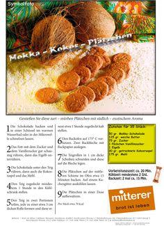 Rezept: Mokka-Kokos-Plätzchen