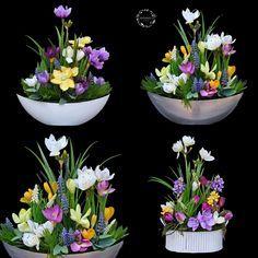 Spring Flower Arrangements, Floral Arrangements, Diy Flowers, Spring Flowers, Centre Pieces, Easter Crafts, Birthday Decorations, Diy And Crafts, Bouquet