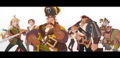 "The sea king contest. ""Wild Dango team"" on Behance"