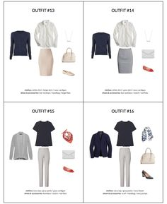 The Workwear Capsule Wardrobe: Spring 2018 Collection - Classy Yet Trendy