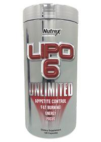 Nutrex Lipo 6 Unlimited