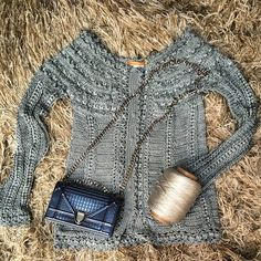 Блуза Silver (by Vanessa Montoro) - Страна Мам Crochet Jumper, Crochet Coat, Crochet Jacket, Crochet Cardigan, Crochet Clothes, Vanessa Montoro, Shrugs And Boleros, Blouse And Skirt, Crochet Fashion