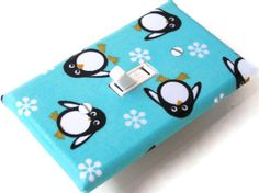 PENGUINS Switchplate Cover by smijims