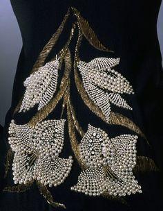 François Lesage - Maitre d'Art - Broderies Haute Couture - Détails