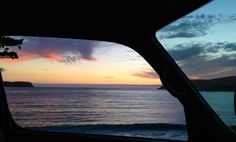 "New Zealand ""Vanscapes"" Framed through the Window of a Van - My Modern Met"