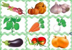 Vegetable Pictures, Rubrics, Montessori, Vegetables, Activities, Plants, Fruits And Veggies, Vegetable Recipes, Veggies