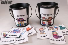 Work On Writing: Story Puzzles Writing Center (Miss DeCarbo's Sugar and Spice)