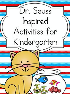Dr Seuss Worksheets (inspired by Dr. Seuss!) Dr. Seuss Worksheets for Kindergarten or First Grade: Inspired by Dr. Seuss! books, fun activities to do with your little one!