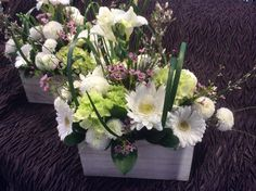 White and green flowers, always fresh and always a great choice. Inbloomkingston.com. in bloom, Kingston On