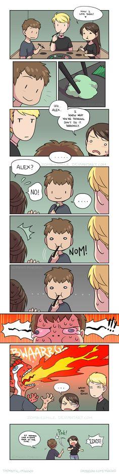 Mini Comics :: I told you so.   Tapastic Comics