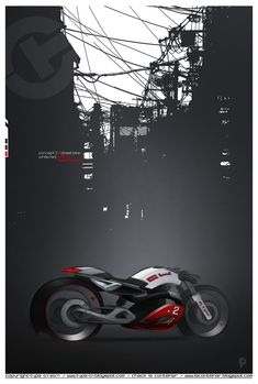 Type 01-2011: Red-White Motorbike. Kind of like the Audi Color Scheme