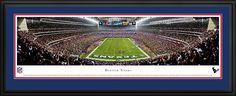 Houston Texans Panoramic - Reliant Stadium Picture - 2013 - $199.95