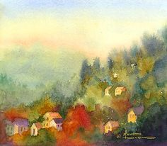 Hillside Village~Maud Durland