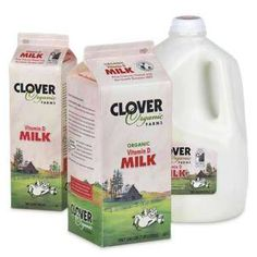 $0.75 Off Any Clover Stornetta Farms Organic Dairy Products Printable Coupon!