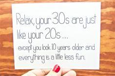Funny Birthday Card - 30th Birthday Card, Happy Bday. Happy Birthday Card. via Etsy