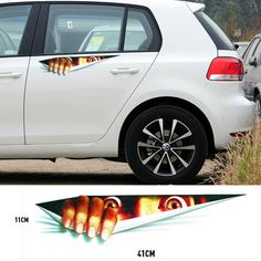 Find More Stickers Information about 41*11cm Funny Peeking Monster Waterproof Fashion Car Sticker Car Styling For All Cars Chevrolet Cruze Ford Focus free Shipping,High Quality car hood sticker,China stickers stationery Suppliers, Cheap car sticker tuning from COOL CAR STORE on Aliexpress.com