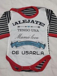 Cuidado con malhumorado Abuela Nuevas Personalizado Babero De Bebé-Unisex Blanco