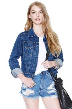 Levi's Jean Girls Jacket