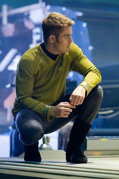 Captian James Tiberius Kirk- Most handsome captain in Starfleet :)