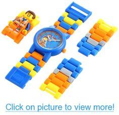 Lego Kids' 9009976 Emmet Mini-Figure Link Watch
