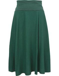 De rok Doreen is een ideale rok met een super pasvorm. De bovenkant van de rok heeft een brede elastische band die je dubbel kan vouwen.