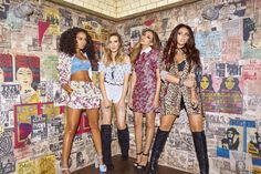 Little Mix for Get Weird Photoshoot