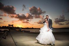 Congratulations to Felicia & Jason! | Photo by Walter Wilson Studios