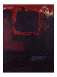Franz Kline - Untitled (1955) Oil on canvas