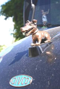Divco Milk Truck Hood OrnamentRe-pin...Brought to you by #CarInsurance at #HouseofInsurance in Eugene, Oregon