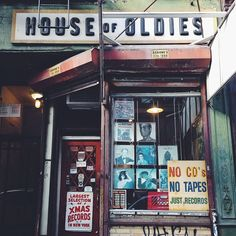 House Of Oldies. #records #record store