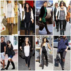 Kourtney K Maternity Fashion (LOVE her style)