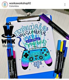 Lettering, Ideas, Frases, Decorated Notebooks, Cute Things To Draw, Tips And Tricks, Creative Notebooks, Drawing Letters, Thoughts