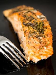 Broiled Salmon with Rosemary Recipe on Yummly. @yummly #recipe