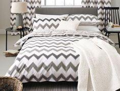 Zig Zag Grey Print Bed Set from Next