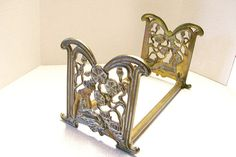 c1910 Judd Book Rack 9802 bookends Art Nouveau Lady by Lily Pad