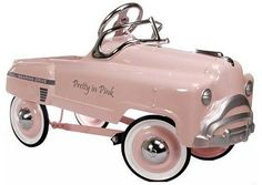 pedal_cars_ar_pretty_in_pink_lg.jpg Photo: This Photo was uploaded by Find other pedal_cars_ar_pretty_in_pink_lg.jpg pictures and photos o. Pretty In Pink, Pink Love, Antique Toys, Vintage Toys, Vintage Pram, Lowrider, Retro Baby, Pedal Cars, Everything Pink