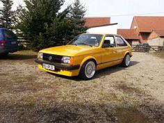Opel Kadett D Tuning
