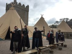 Archery, one of the popular activities of our Game of Thrones tours.