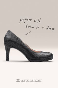Every woman needs a go-to pair of pumps. Meet the Michelle - the