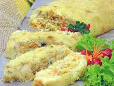 Rocambole de Bacalhau | Doces e sobremesas > Receitas de Rocambole Doce | Mais Você - Receitas Gshow