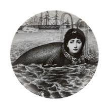 "Fornasetti ""Seal Body"" Plate"