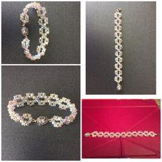 Bracelet Making, Diamond, Bracelets, Jewelry, Fashion, Bangles, Jewellery Making, Moda, Arm Bracelets