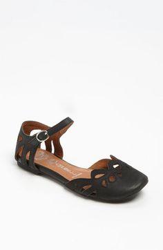Leather Jeffrey Campbell 'Cinda' Flat | Nordstrom