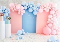 """THE EVENT COLLECTIVE ✖️ on Instagram: """"Gender reveal 💙💖 by @popcorn.group_moscow #theventcollectivex . . . . #babyshower #genderrevealparty #birthdayparty #genderrevealballoon…"""" 40th Birthday Decorations, Gender Reveal Party Decorations, Balloon Decorations, Gender Party, Baby Gender Reveal Party, Baby Shower Balloons, Baby Shower Parties, Baby Reveal Cakes, Lavender Baby Showers"""