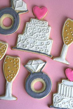 wedding cookies 2 by annieseats, via Flickr