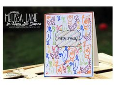 Happy Little Stampers - Whimsical Friends by Melissa Lane